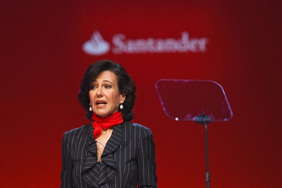Banco Santander SA Chairman Ana Botin
