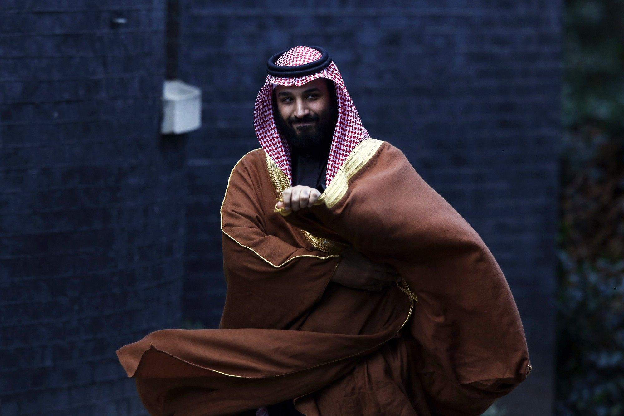 Saudi Arabia Crown Prince Mohammed Bin Salman Visits U.K. Prime Minister
