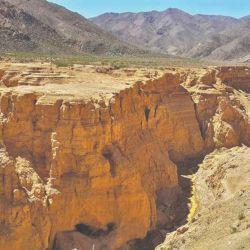 El Cañón del Ocre, de 60 metros de profundidad.