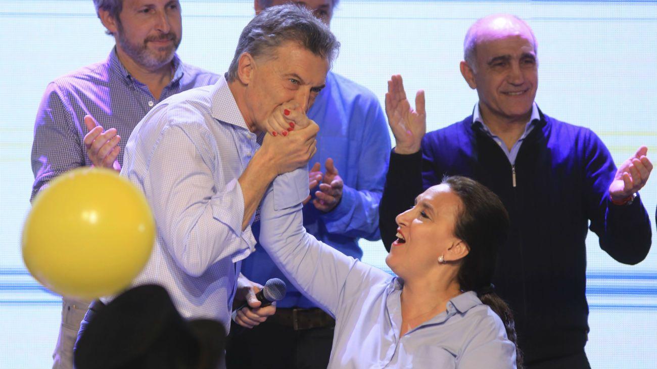 El presidente Mauricio Macri podría volver a elegir a Michetti como su compañera de fórmula.