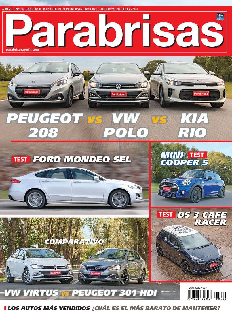 Revista Parabrisas 486 - Abril 2019