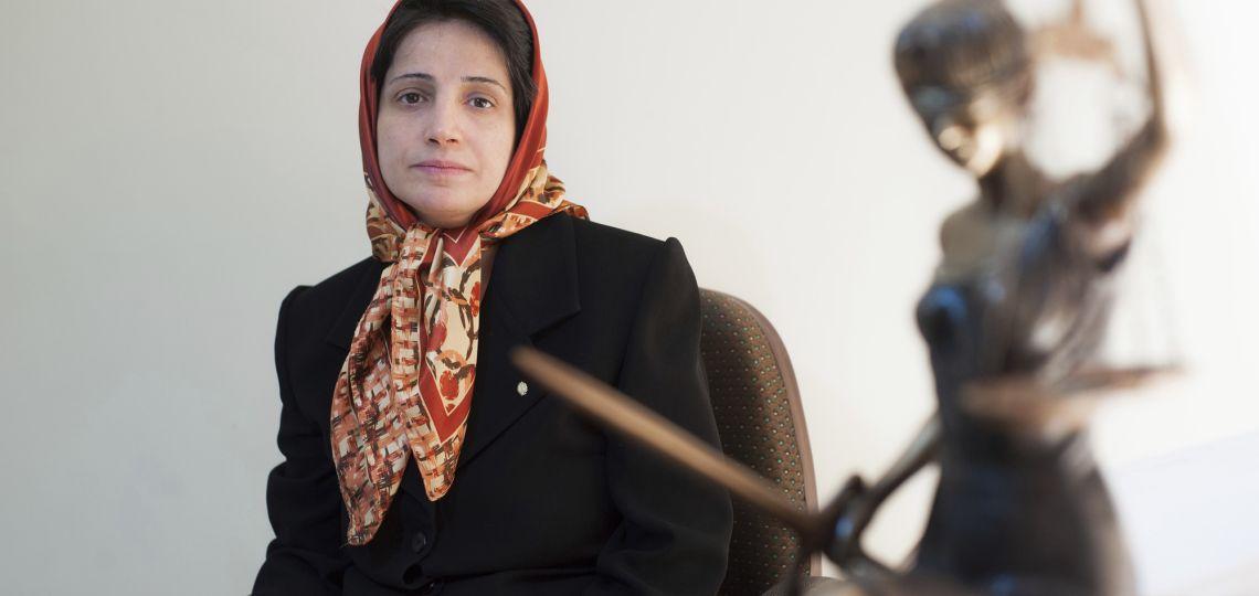 Ayudanos a liberar a Nasrin Sotoudeh, la iraní condenada a 38 años de prisión