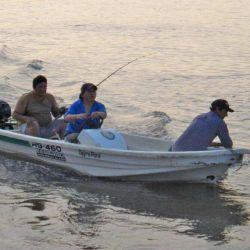 La Ecotraq RG-460 es ideal para una salida de pesca.