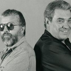 Alberto Cortez junto a Facundo Cabral