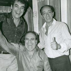 Alberto Cortez, Alberto Olmedo y Pepe Fechoria
