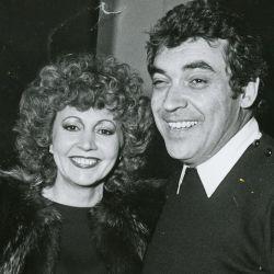 Alberto Cortez junto a Lidia Elsa Satragno, Pinky