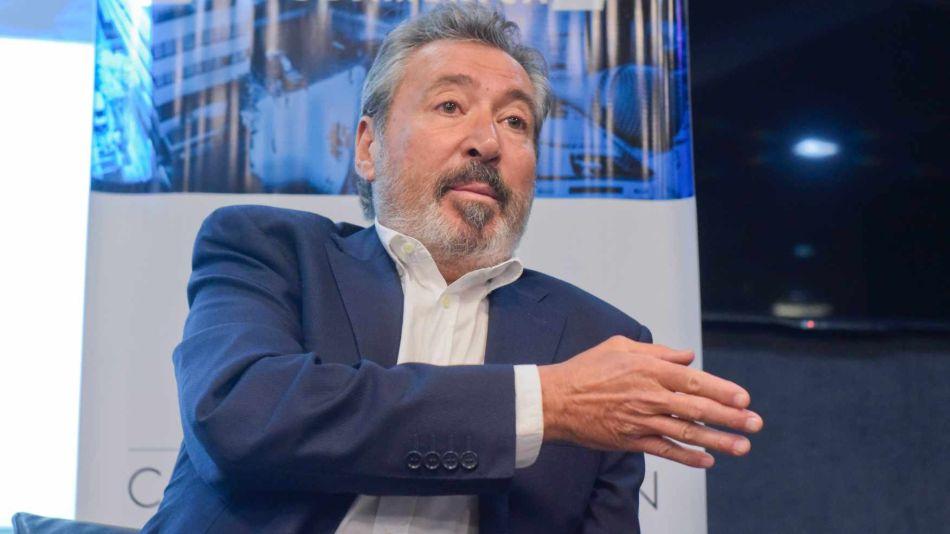 Daniel Vila, en el ciclo de charlas de la Escuela de Comunicación de Perfil.