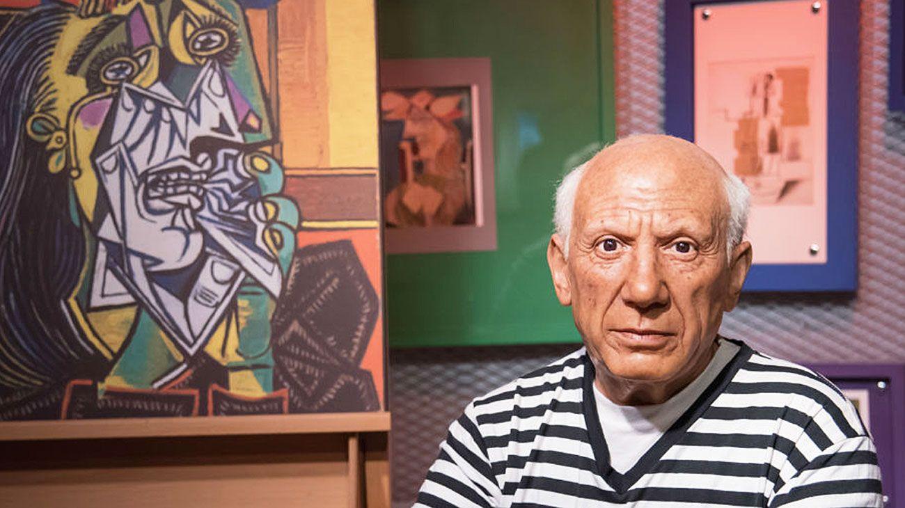 Picasso. En Montevideo tiene lugar una muestra con obras de los museos Picasso de París y Barcelona, que no pasarán por Buenos Aires.