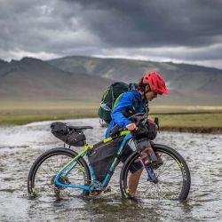 El bikepacking ya se empieza a ver en la Argentina.