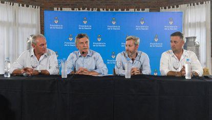 Macri en conferencia en Entre Ríos