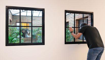 Muestra. Algunas de las instalaciones que hacen que el espectador ponga en duda su percepción.