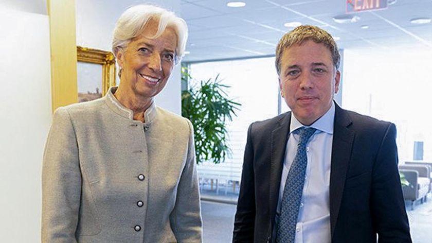 Dujovne y Sandleris, en Asamblea del FMI y el Banco Mundial
