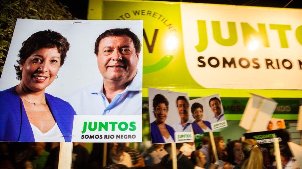 Arabela Carreras se impuso en las elecciones de Río Negro.