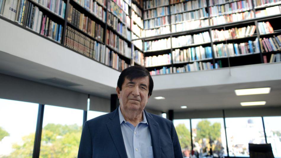 Duran Barba, en el reportaje con Fontevecchia.