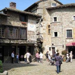 Pérouges ha sido el set de filmación de numerosas películas de época.