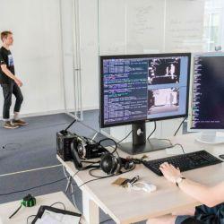 Laboratorio de IA de Volkswagen en Munich, Alemania.