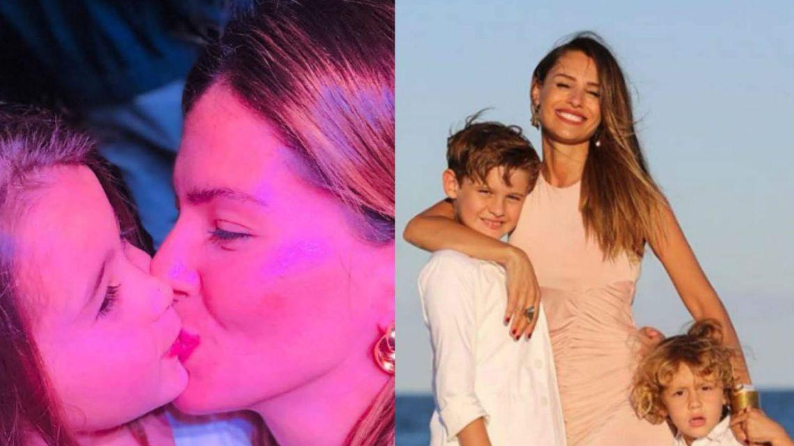 El desopilante video de Rufina Cabré con los hijos de Pampita