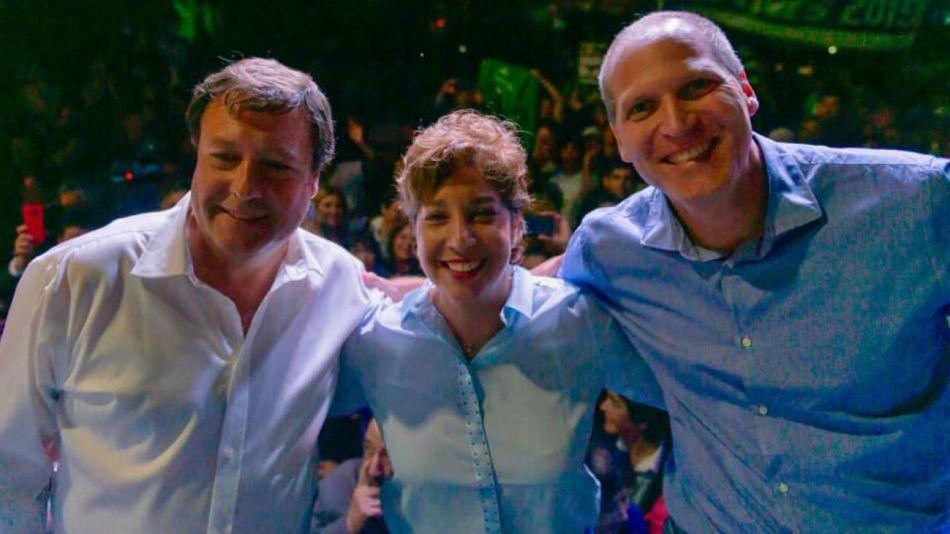 La candidata de Juntos Somos Río Negro, Arabela Carreras, logró más del 50 por ciento de los votos.