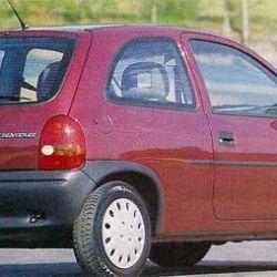 El corsa se vendió en Argentina bajo la línea Chevrolet