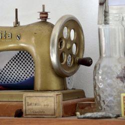 Su icónica máquina Nolita es heredada de su abuela.