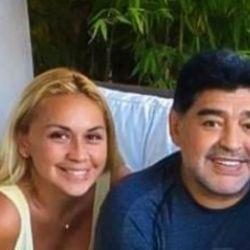 Diego y Verónica, juntos.