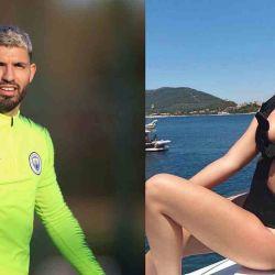 El Kun Agüero desmintió salir con Sofía Calzetti