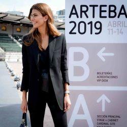 Juliana Awada en ArteBA.