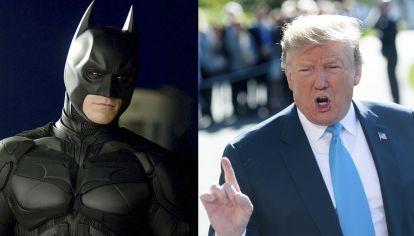 Trump utilizo a Batman sin autorizacion.