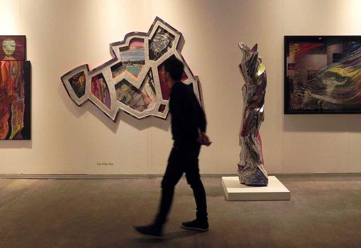 Inauguró la 28ª edición de arteBA