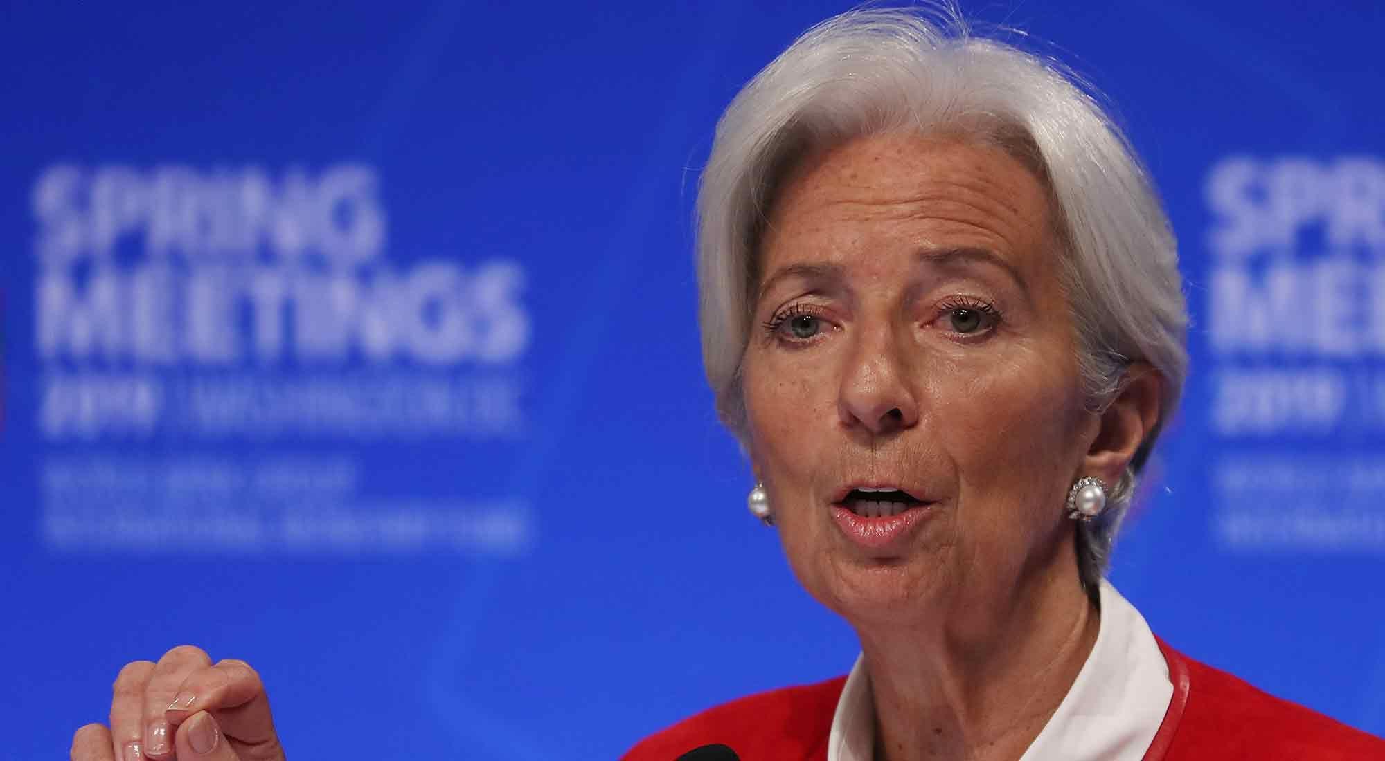 """Lagarde reveló que el FMI """"tiene corazón"""""""