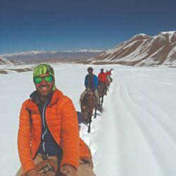 De Sary Mogul a la base del pico Lenin, tres días de cabalgata en Kirguistan.