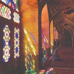 Mezquita al-Mulk de Nasir, una de las más hermosas del mundo.