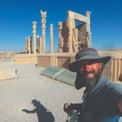 Persépolis, ruinas del mayor imperio conocido por la humanidad.