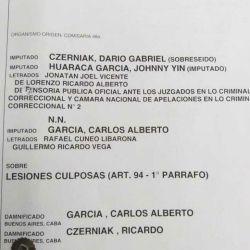 Los datos de la causa en la que quedó involucrado Charly García