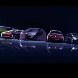 El Roomzz será el sexto integrante de la familia ID. de vehículos eléctricos de Volkswagen.