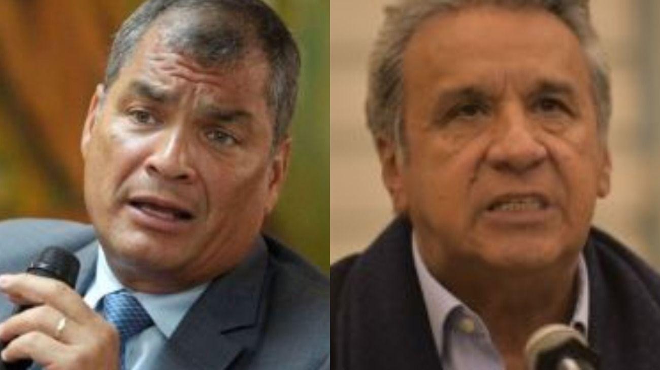 El expresidente de Ecuador, Rafael Correa, criticó duramente a Lenin Moreno: lo acusó de corrupto y traidor.