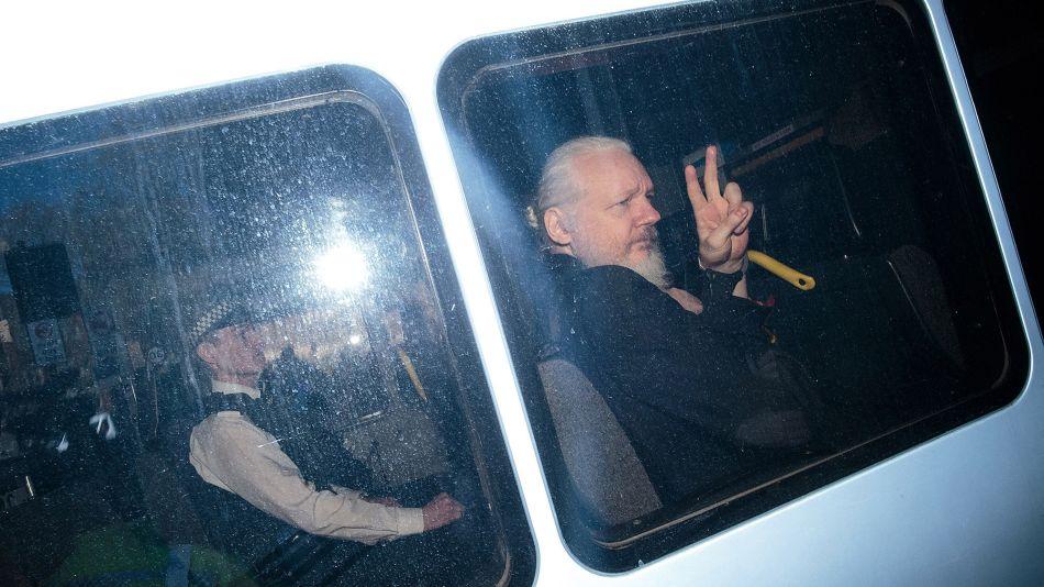 Julian Assange GETTY Sub