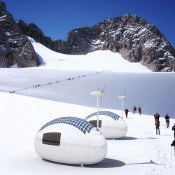 La Ecocapsule es una casa portátil, sustentable y con forma de cápsula que te permite vivir en cualquier lugar del mundo.