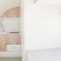 La Ecocapsule es una vivienda compacta de bajo consumo y autosustentable.