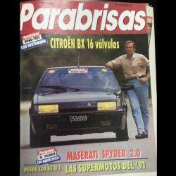 Revista Parabrisas n°152 de febrero de 1991. Carlos Alberto Reutemann, tester de lujo.