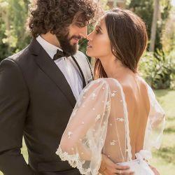 Paz Cornú se casó con Diego Orden.