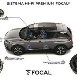 Sistema de audio Focal del Peugeot 3008