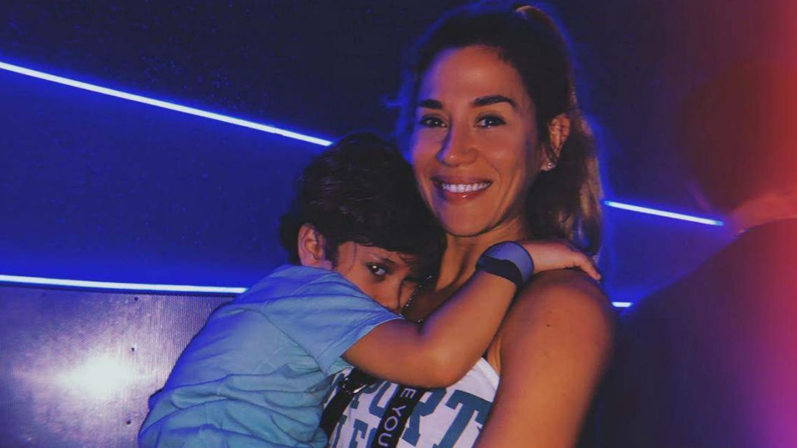 El desopilante video del hijo de Jimena Barón en Disney