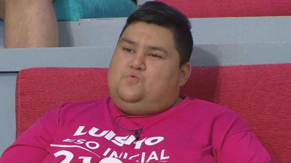 """El desesperado pedido de ayuda para Luisito de """"Cuestión de Peso"""""""
