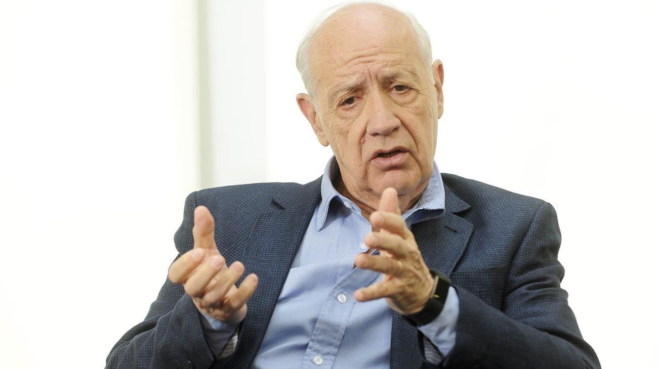 MENSAJE. Lavagna habló de las políticas que propone el FMI.