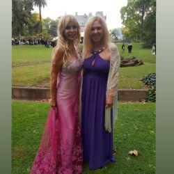 Graciela Alfano fue madrina de lujo en el espectacular casamiento de su hijo