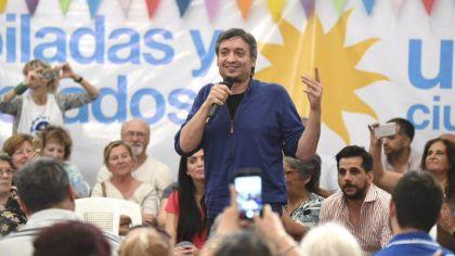 Máximo Kirchner, referente de La Cámpora.