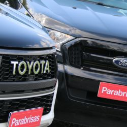 Ford Ranger Limited Black Edition vs Toyota Hilux GR Sport