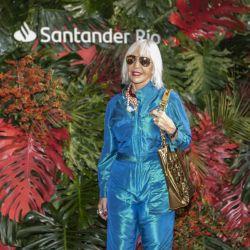 Marta Minujin fue parte de la exposición de Santander Río en ArteBA.