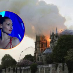 Pampita no escondió su dolor por Notre-Dame